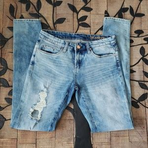 Blank NYC Jean's Distressed Nordstrom size 26 EUC